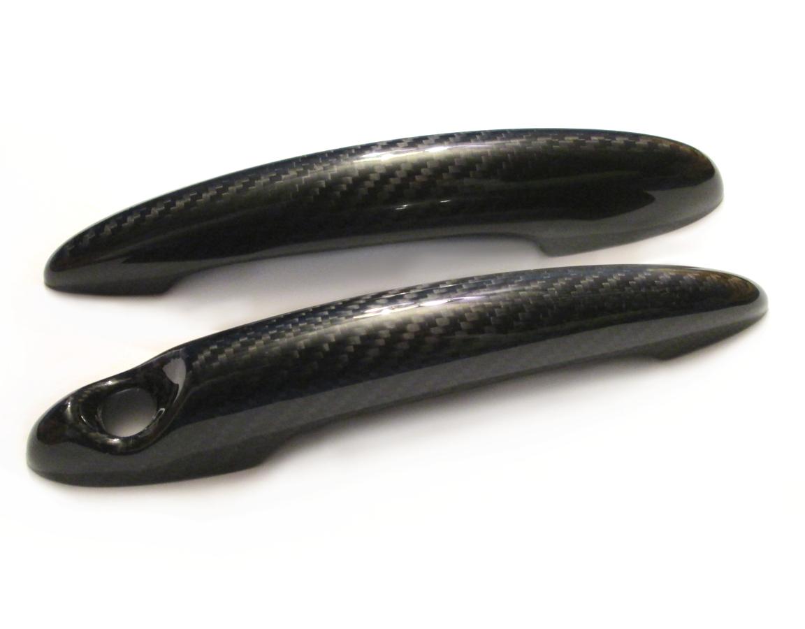 Carbon Fiber Door Handle Covers For Mini Cooper R50 R52