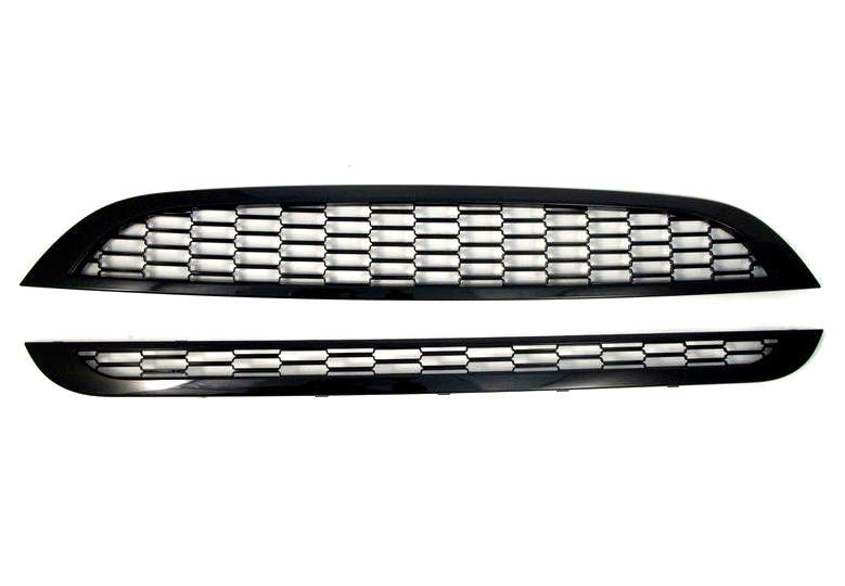 For Mini Cooper R50 R52 Front Left /& Right Fender Side Grilles Grill Set